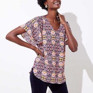 LOFT blouse, XXL